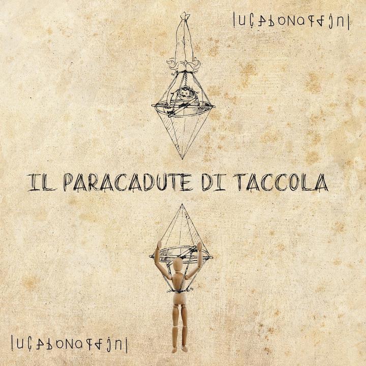 Il paracadute di Taccola - cover